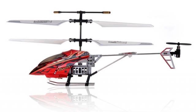 RC vrtulník Phantom-Phoenix, červená