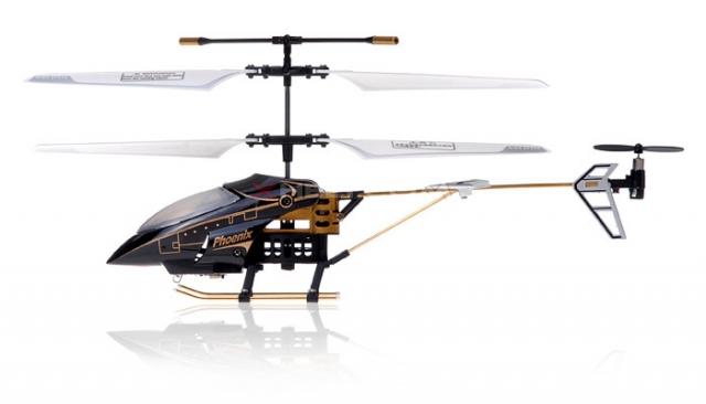 RC vrtulník Phantom-Phoenix, černá