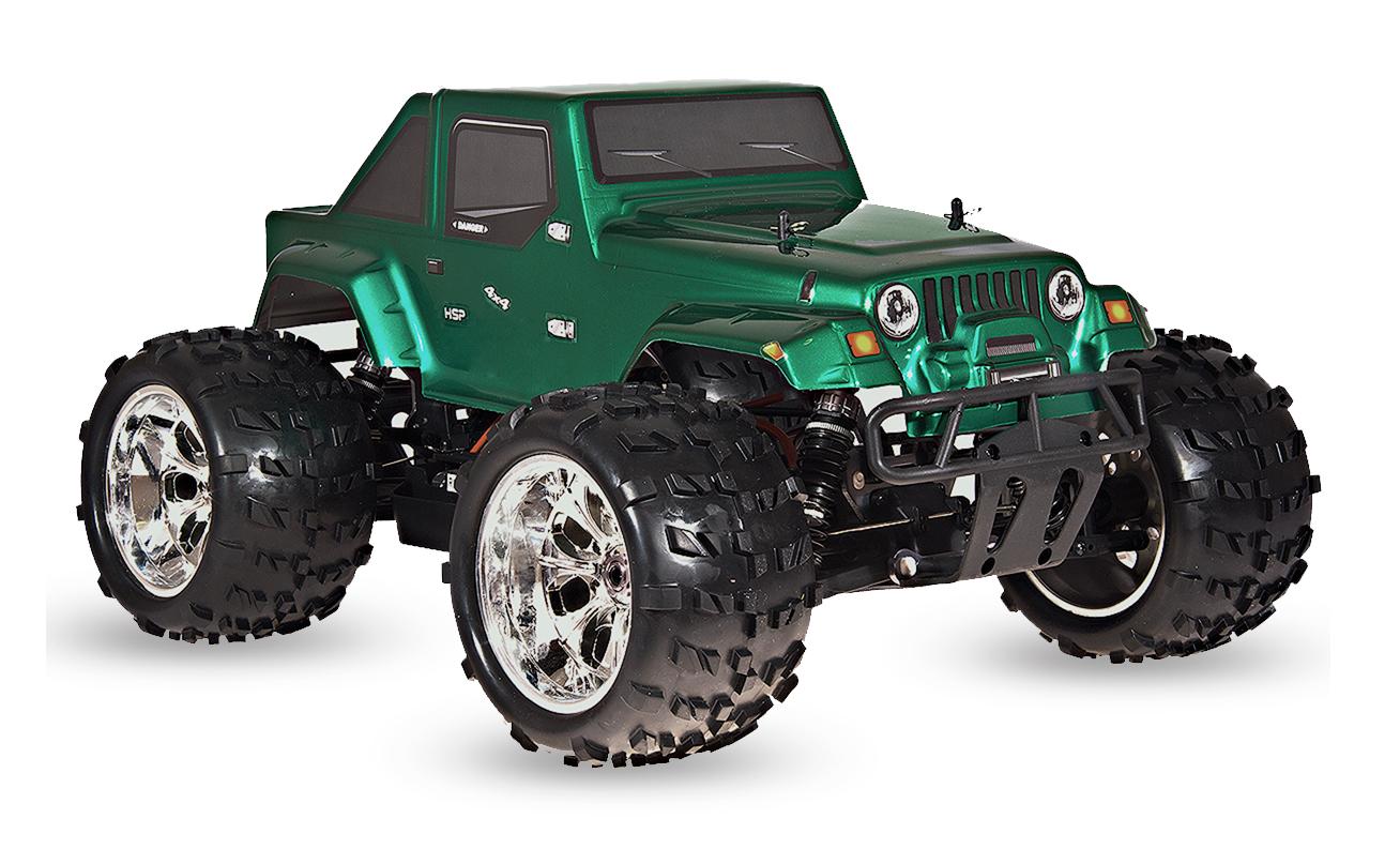 HSP Jeep 4x4, zelená