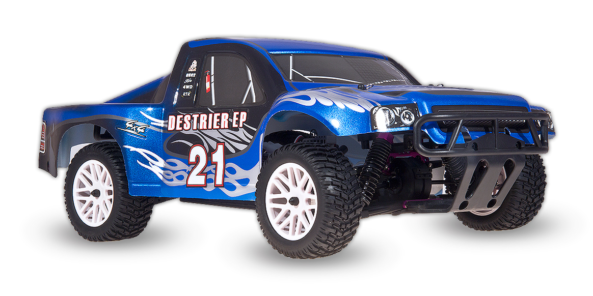 HSP Destrier EP 4x4, modrá