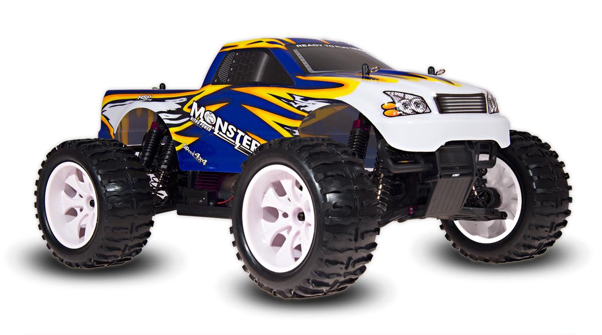 HSP Monster Truck 4x4, modrá