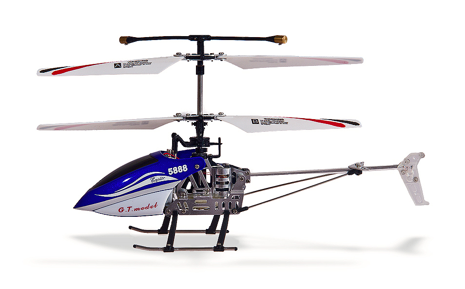 Vrtulník Mini Flier, modrá