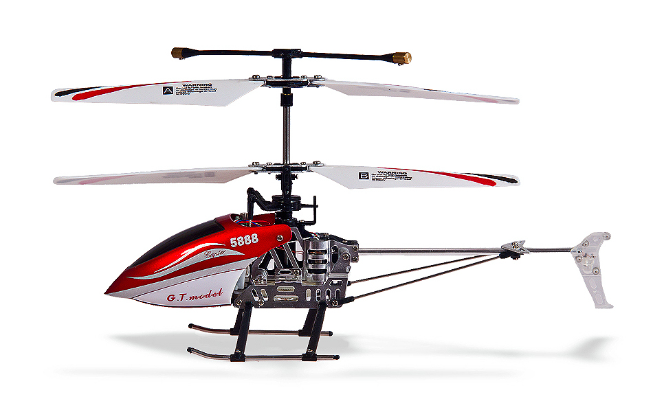 Vrtulník Mini Flier, červená