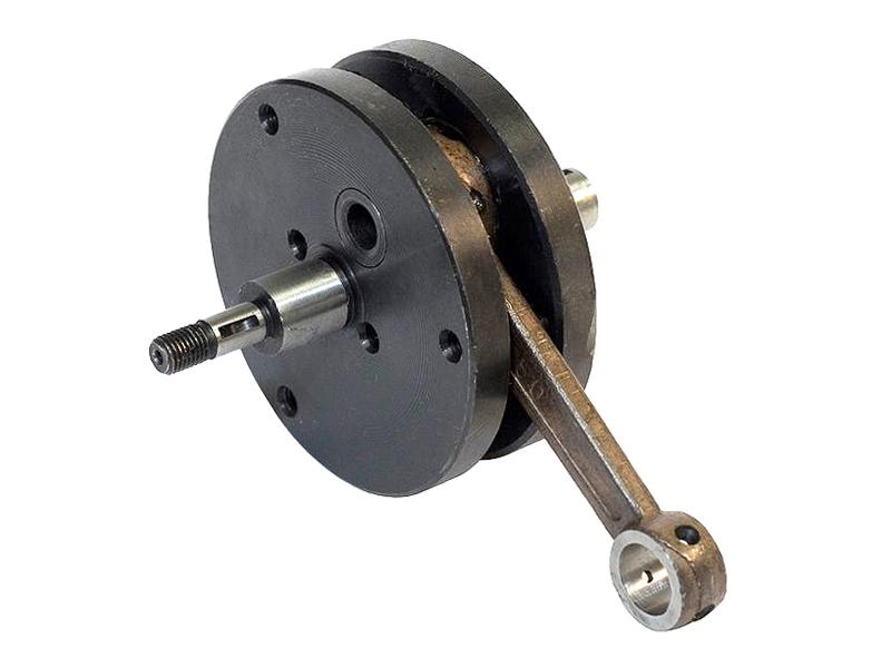 Motor na kolo - kliková hřídel