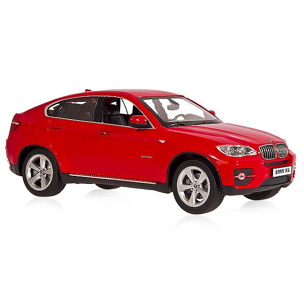 BMW X6, červená
