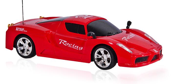 Sportovní auto-New Wave, červená
