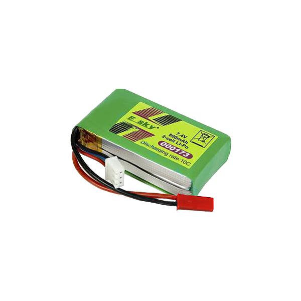 Baterie Li-Pol 800 mAh 7,4V/10C ESKY 000173 (EK1-0181)