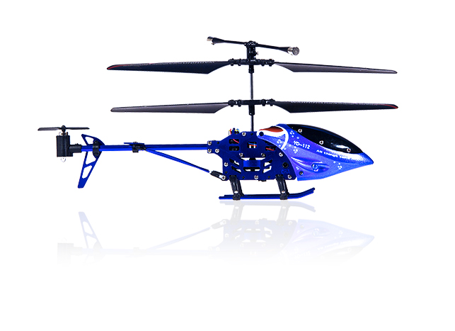 RC Helikoptéra Blue Blood I/R s gyroskopem, modrá