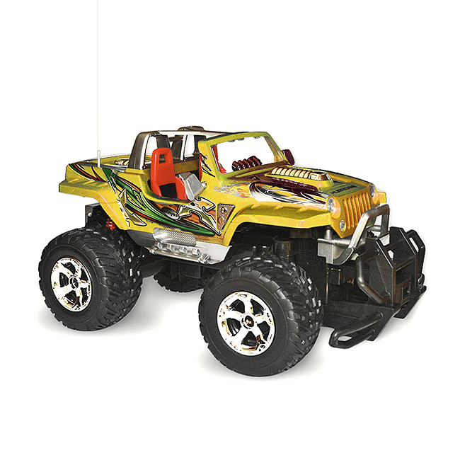 RC Jeep 1:12 Hurricane Hot Truck, žlutá