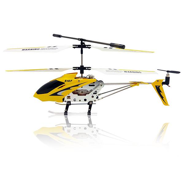 RC Vrtulník Syma S 107, žlutá