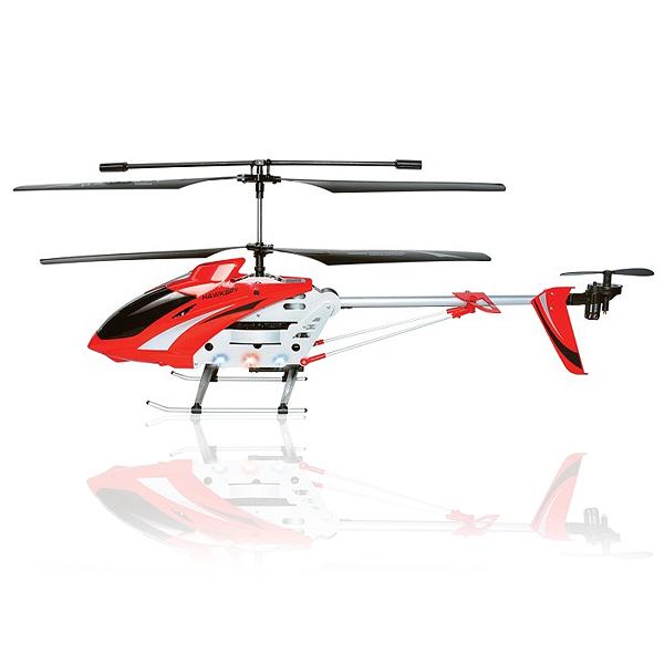RC Vrtulník Egofly LT-711 s Integrovanou kamerou, červená
