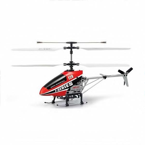 RC Vrtulník F28, červená