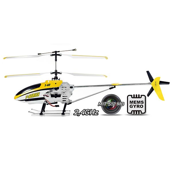 Obrovský 3CH RC vrtulník s kamerou T640C