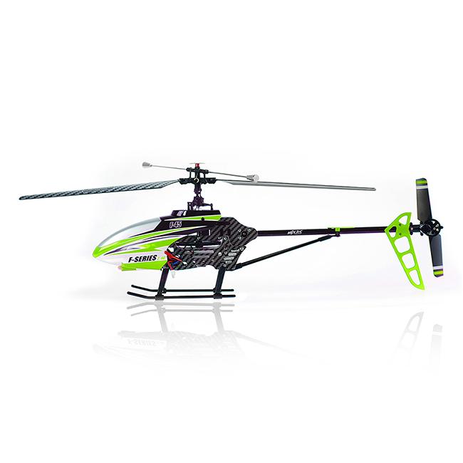 Velký 4CH RC vrtulník F45 (F645), zelená