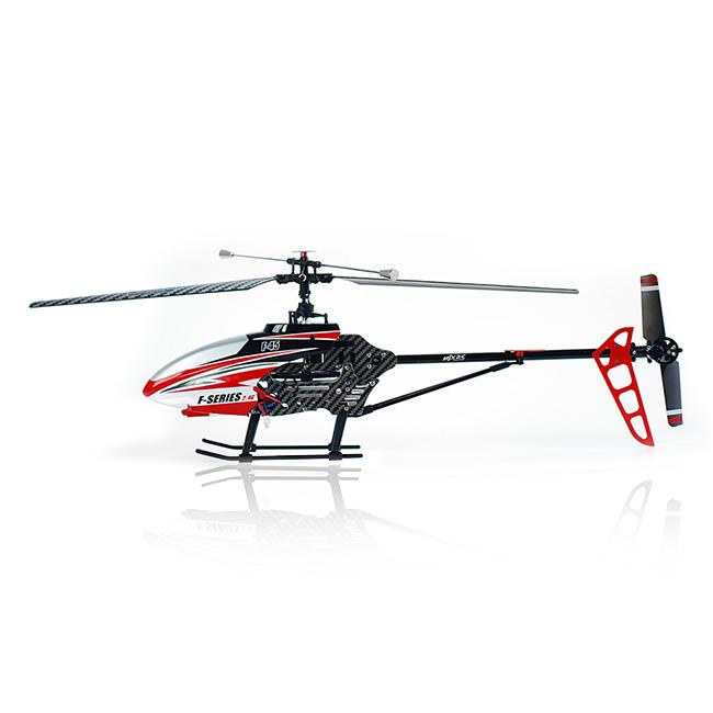 Velký 4CH RC vrtulník F45 (F645), červená