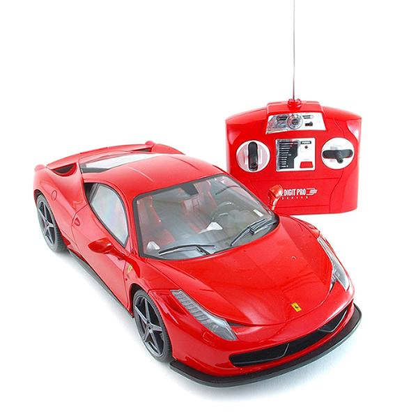 Ferrari 458, červená