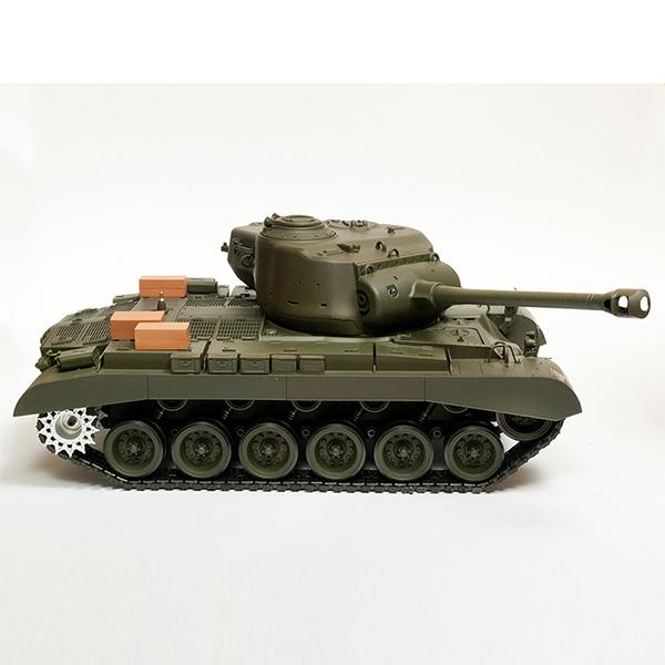 RC tank 1:16 Snow Leopard (M26 Pershing) 3838-1 kouř. a zvuk. efekty