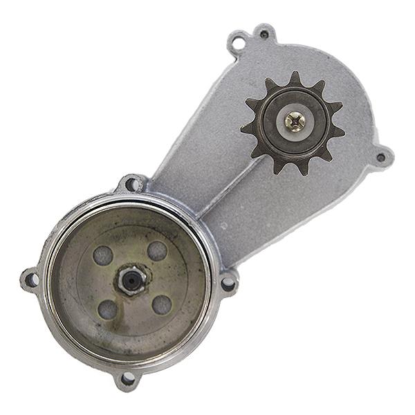 Motor na kolo-převodová skříň kompletní s volnoběžkou (čtyřtakt)