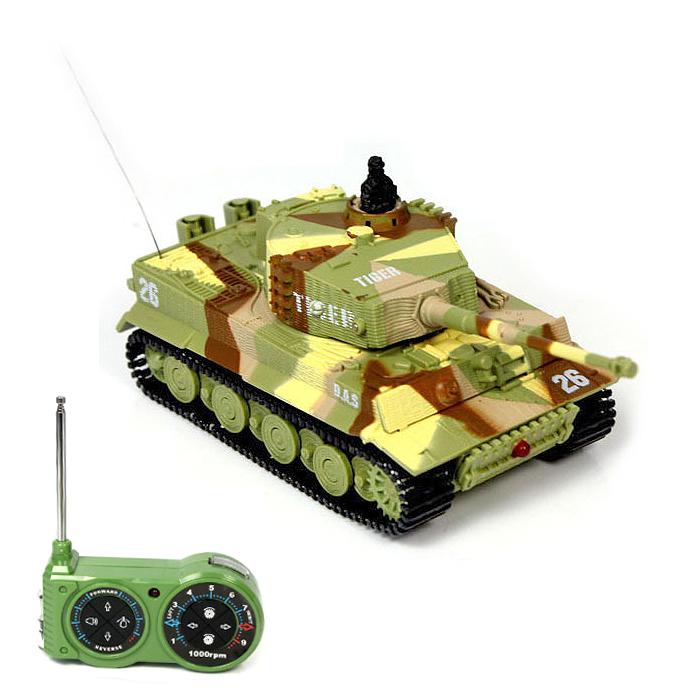 Mini tank TIGER 1/72, Military mimikry desert