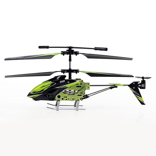 Malý 3CH RC vrtulník S929 (T-Rex), zelená
