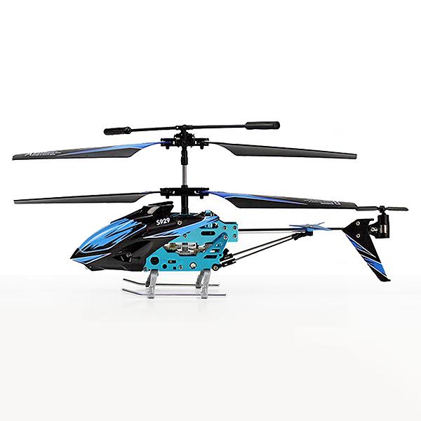 Malý 3CH RC vrtulník S929 (T-Rex), modrá