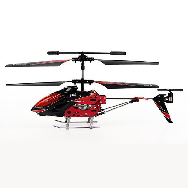 Malý 3CH RC vrtulník S929 (T-Rex), červená