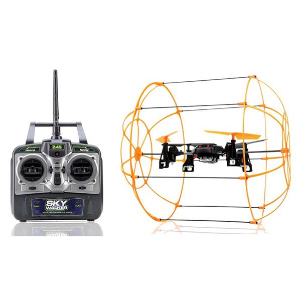 RC kvadrokoptéra SKYWALKER, 2,4 GHz, oranžová