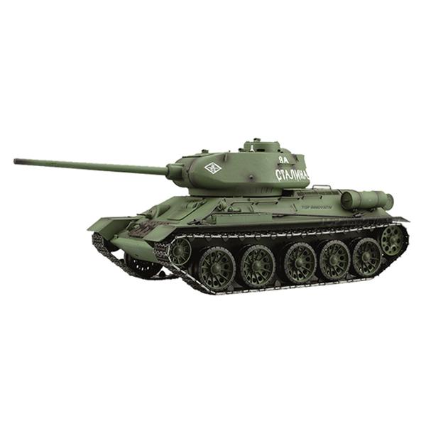 RC tank 1:16 T-34/85 3909-1 kouř. a zvuk. efekty, 2,4 GHz