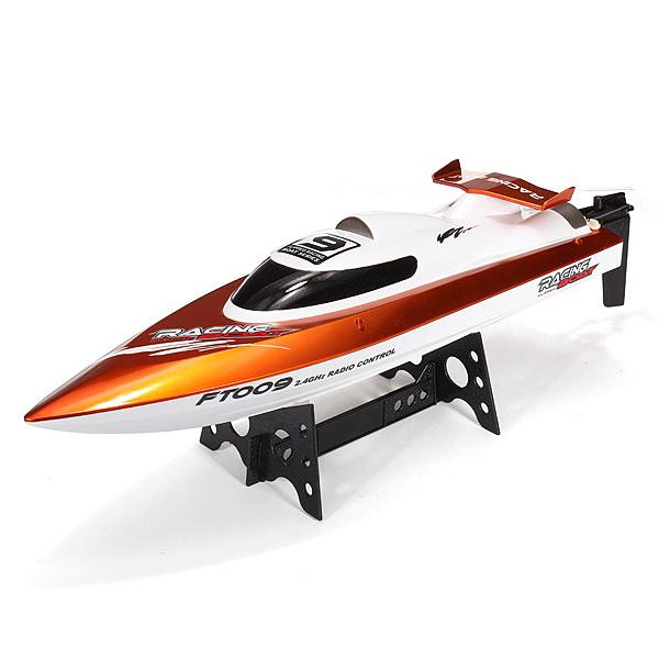 Závodní rychlostní RC loď FT009, oranžová