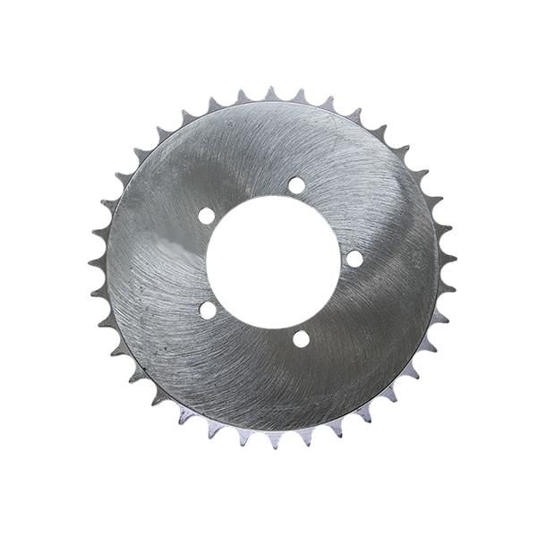 Motor na kolo-rozeta pro volnoběžku s obroučkou (36 zubů)