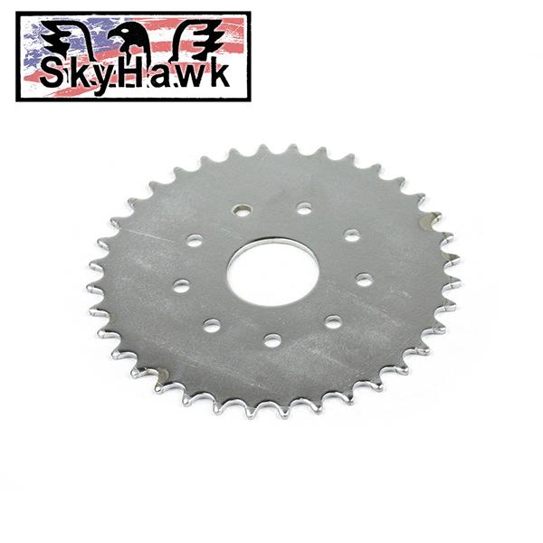 Motor na kolo Sky Hawk - rozeta 36 zubů, pohon zadního kola