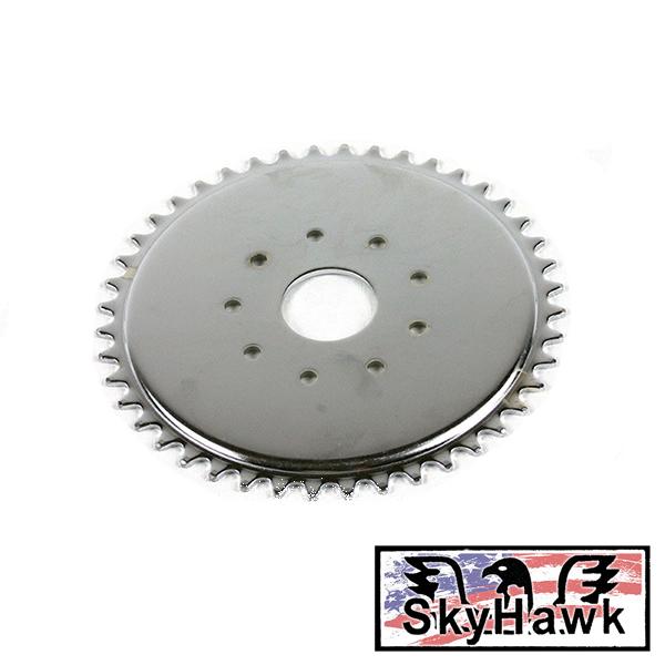 Motor na kolo Sky Hawk - rozeta 44 zubů, pohon zadního kola
