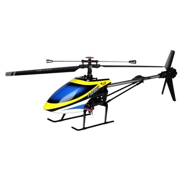 Velký 4CH RC vrtulník F49 (F649), žlutá