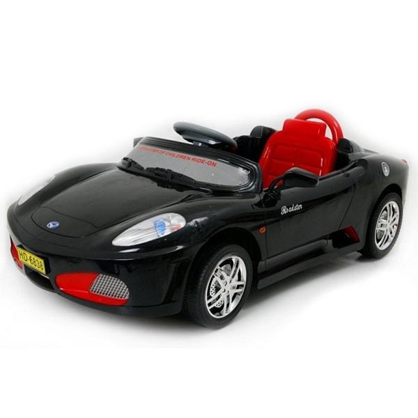 Dětské elektrické autíčko s rodičovským dálkovým řízením styl Ferrari