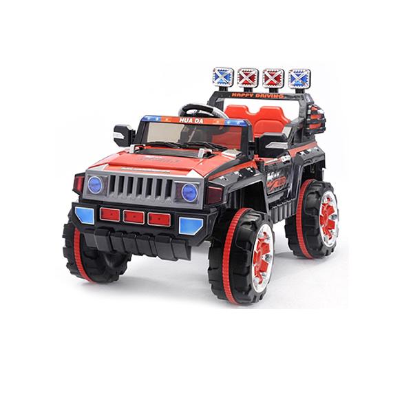 Dětské elektrické autíčko s rodičovským dálkovým řízením styl Jeep