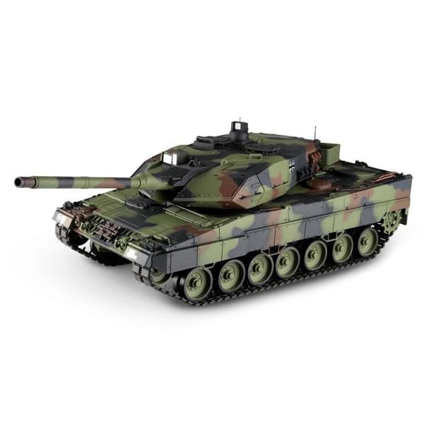 RC tank 1:16 German Leopard 2 A6 3889-1 kouř. a zvuk. efekty, 2,4 GHz