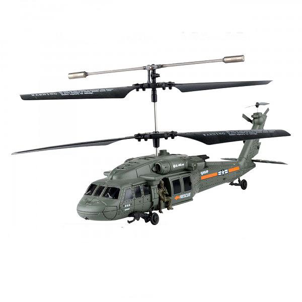 RC vrtulník Black Hawk U811W, 2.4GHz