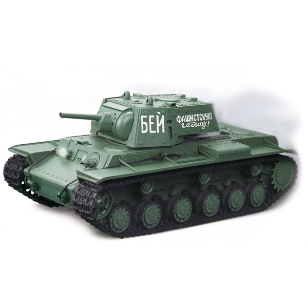 RC tank 1:16 Russia KV-1's Ehkranami 3878-1 kouř. a zvuk. efekty, 2,4 GHz