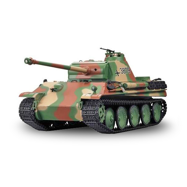 RC tank 1:16 German Panther Type G Late Version 3879-1 kouř. a zvuk. efekty