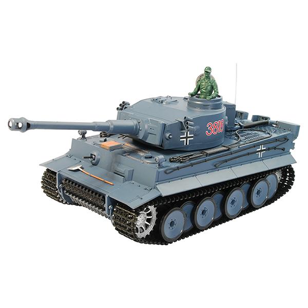 RC tank 1:16 German Tiger I 3818-1 kouř. a zvuk. efekty
