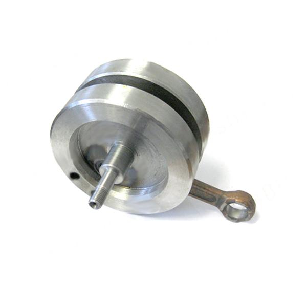 Motor na kolo - kliková hřídel vyvážená