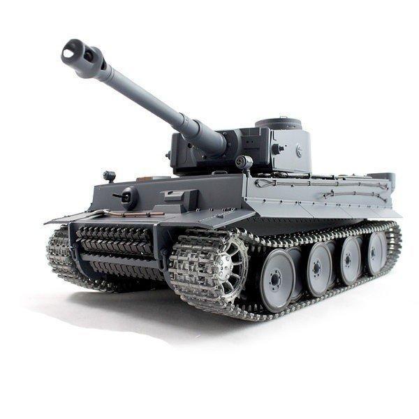 RC tank 1:16 German Tiger I 3818-1 kouř. a zvuk. efekty, kovové pásy a kovová převodovka