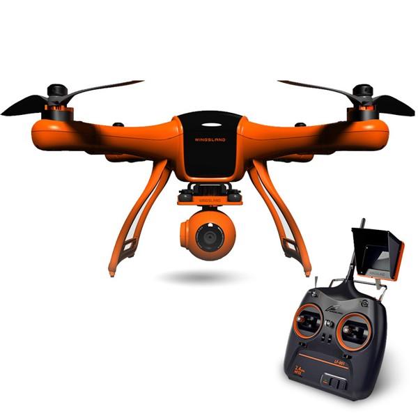 Wingsland Scarlet Minivet Dron, online přenos, GPS, Full HD kamera, 3osý gimbal, nová verze - větší displej