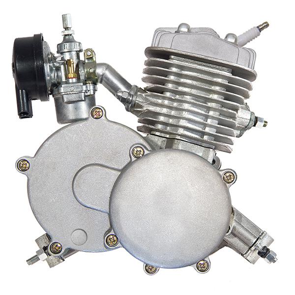 Přídavný motor na kolo 80 ccm pro motokolo s integrovanou odstředivou spojkou Kompletní souprava (kit)