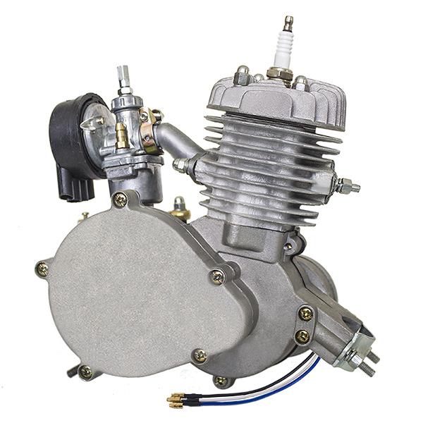 Přídavný motor na motokolo s obsahem 48 ccm Kompletní souprava (kit)-kulatý válec