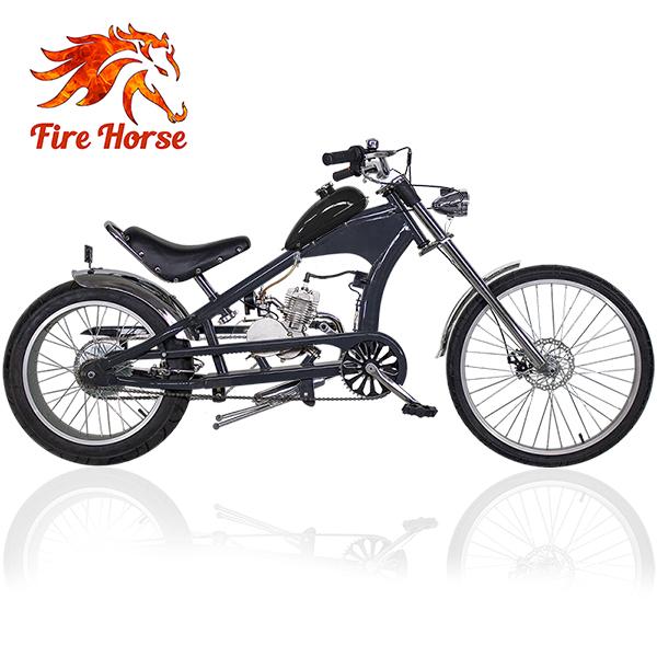 Jízdní motokolo s přídavným motorem Chopper Fire Horse